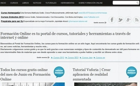 Formación Online: cursos y tutoriales gratis | Las TIC y la Educación | Scoop.it