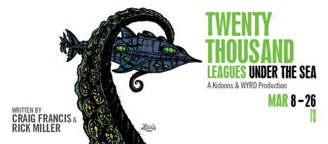 London : The Grand Theatre presents Twenty Thousand Leagues Under the Sea | Jules Verne News (english) | Scoop.it