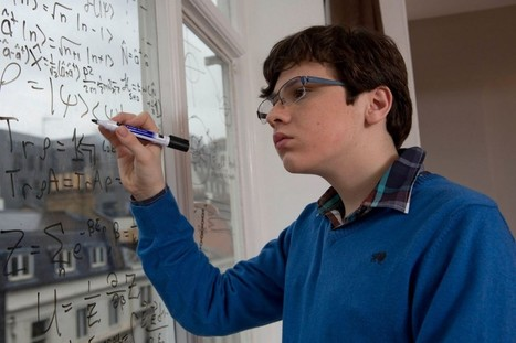 School & Experts Put Genius Boy In Special Ed. Now He's Free & On Track For Nobel Prize | Mathematics Education | Scoop.it