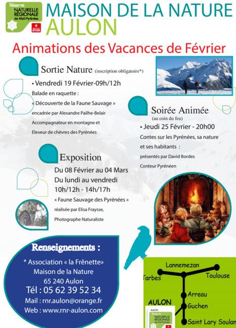 Le 19 février, balade à la recherche d'indices de la faune sauvage en Réserve Naturelle Régionale d'Aulon | Vallée d'Aure - Pyrénées | Scoop.it