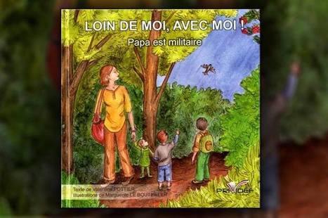 4 questions à … Valentine Pottier et Marguerite Le Bouteiller | Loin de moi, avec moi ! Papa est militaire | Scoop.it