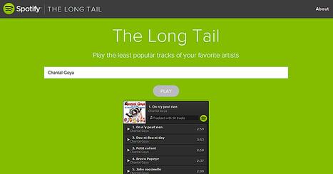 Découvrez les titres les moins écoutés sur Spotify de vos artistes favoris grâce à ce moteur de recherche inversé | Art et Culture, musique, cinéma, littérature, mode, sport, danse | Scoop.it