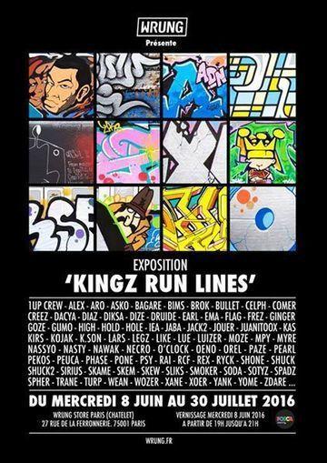 Exposition Kingz run lines | Tous les événements à ne pas manquer ! | Scoop.it