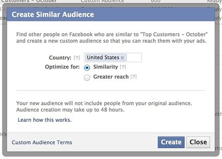 New Facebook Lookalike Audiences = Segments With Reach | BI Revolution | Scoop.it