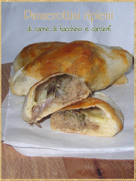 Sciroppo di mirtilli e piccoli equilibri: Panzerottini ripieni di carne di tacchino e carciofi | FOOD BLOG | Scoop.it