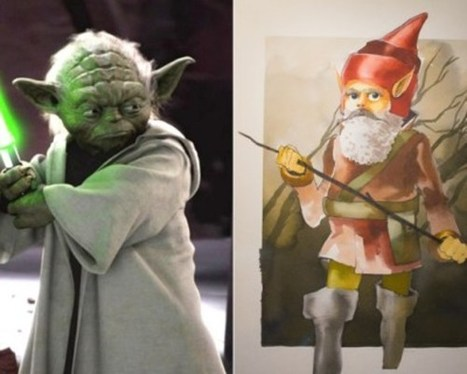 Early Movie Concept Art: See What Your Favorite Characters Could've Looked Like | Shrek | Scoop.it
