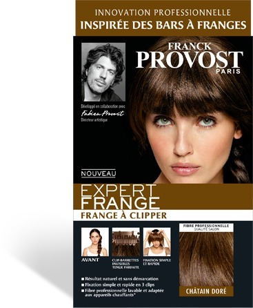 """La Frange a clipper "" de Franck Provost , on ose ou pas ? 