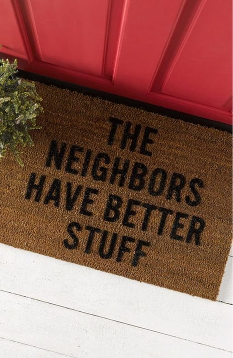 30 Funny Doormats To Give Your Guests A Humorous Welcome | Strange days indeed... | Scoop.it