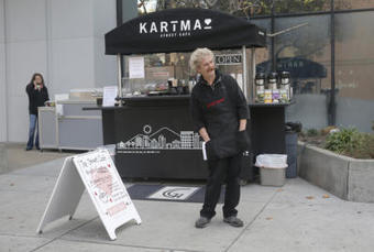 Coffee cart helmed by homeless baristas officially opens in San Jose... | Coffee News | Scoop.it