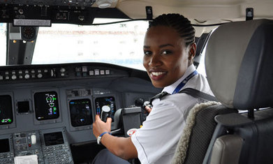 Rwanda's first female pilot takes to the skies at 24 | Women of The Revolution | Scoop.it