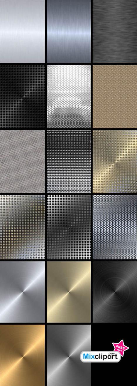 Dezignus.com » Blog Archive » Free Metal Textures | Crazy 4 Photoshop | Scoop.it