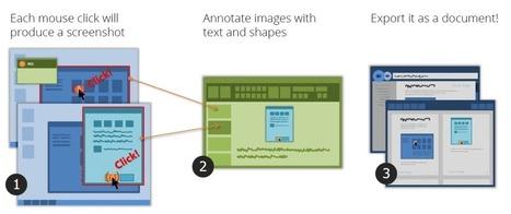 StepShot. Création de tutoriels et pas à pas informatiques | Ressources pour la Technologie au College | Scoop.it