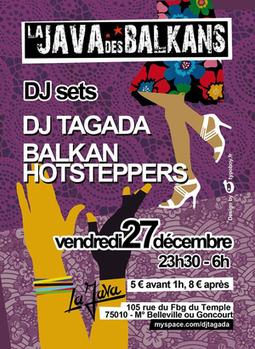 LA JAVA DES BALKANS - La ville des gens (décembre 2013) | La Java - Paris | Scoop.it