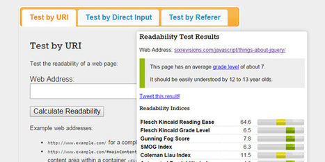 Readability Tools That Will Help Improve Your Site's Content | Digital Brand Marketing | Scoop.it