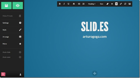 Presentaciones Online: Slid.es es  una gran alternativa a Prezi | Didactics and Technology in Education | Scoop.it