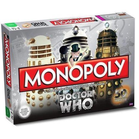 Un Monopoly Doctor Who pour les 50 ans de la série - Jeuxvideo.org | And Geek for All | Scoop.it