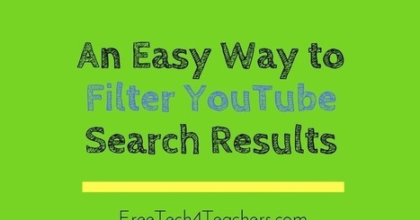 A Good Way to Refine YouTube Search Results via @rmbyrne | TechTips | Scoop.it