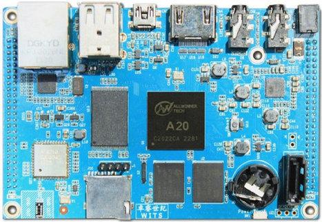Merrii Hummingbird Development Kit Features AllWinner A20 Processor, and an Optional 7″ Touchscreen Display | Embedded Systems News | Scoop.it