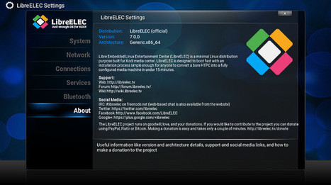 LibreELEC (OpenELEC Fork) v7.0.0 Released with Kodi 16.1 | Embedded Systems News | Scoop.it