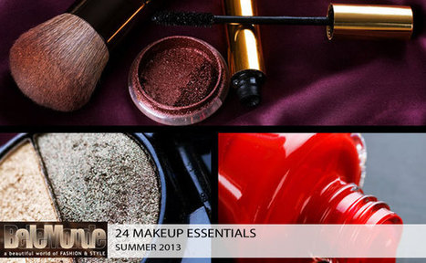 24 Summer make up essentials we love | Why fashion is necessary | Scoop.it