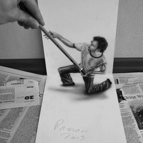 Mind-Blowing 3D Drawings | Strange days indeed... | Scoop.it