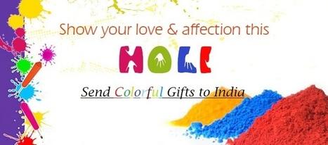 Send Colorful Holi Gifts Online   Myfloralkart.com   Scoop.it