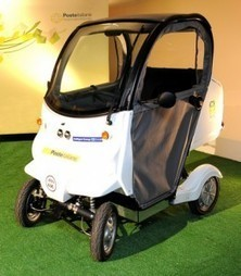 Italy Introduces Green, Electric Quadricycle to Postal Fleet : Tuscany Travel Blog | Toscana Mia (My Tuscany) | Scoop.it