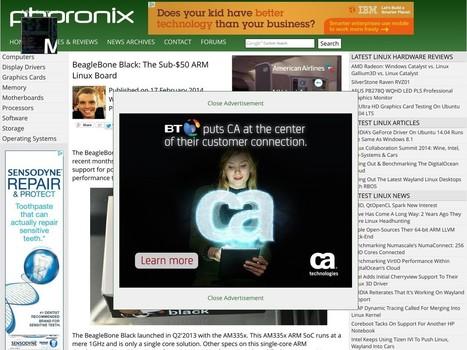 BeagleBone Black: The Sub-$50 ARM Linux Board - Computer Builder Info | Raspberry Pi | Scoop.it