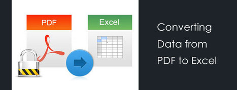 2 Methods to Convert PDFs into Excel in a quick and Hassle Free Manner | Business Solutions News & Article | Hi-Tech BPO | Jewish Education Around the World | Scoop.it