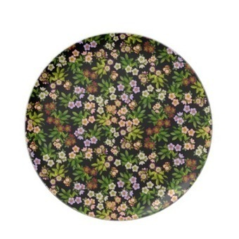 Hellebore Lenten Rose Floral Plate from Zazzle.com | Dinner Plates | Scoop.it
