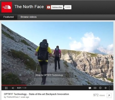 The North Face: 5 Social Media Marketing Tips | Internet marketing news | Scoop.it