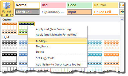 A Marketer's Guide To Table Formatting In Excel | Excel For SEO | Scoop.it