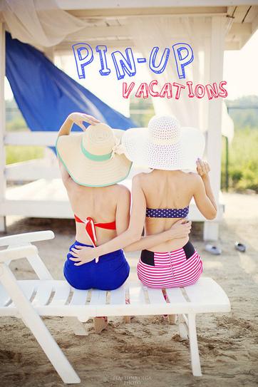 Retro Pin Up Vacation From Photographer Olga Plakitina | Rockabilly | Scoop.it