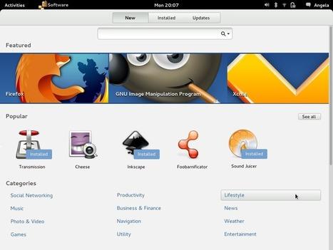 Un nouveau App Center pour l'environnement Gnome 3 fait son apparition   Time to Learn   Scoop.it