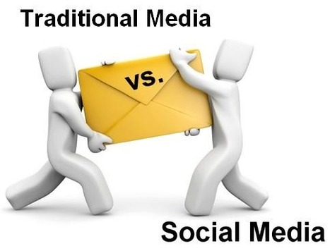 7 Ways to Blend Social Media and Traditional Marketing | tips of business development | Scoop.it