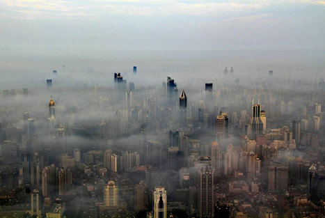 Crane Operator for Shanghai's Tallest Building Takes Amazing Photos of City Below | blog fotografía | Scoop.it