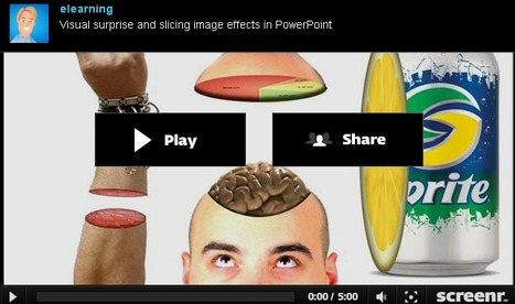 Visual surprise and slicing image effects in PowerPoint | teaching with technology | Scoop.it