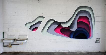 Striking And Colorful Street Art That Give Off The Illusion Of Peeling Layers | Street Art ReBoot | Scoop.it