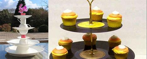 Décoration de table : Des présentoirs DIY - DIY Déco | Décoration de Mariage, Baptême et déco de table | Scoop.it