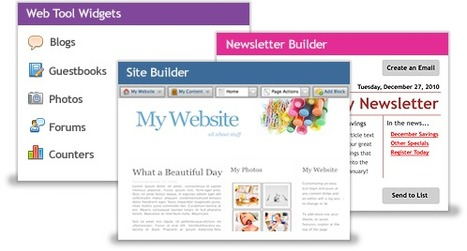 Easy Website Builder, Hosting & Web Tools from Bravenet.com   21st Century Tools for Teaching-People and Learners   Scoop.it