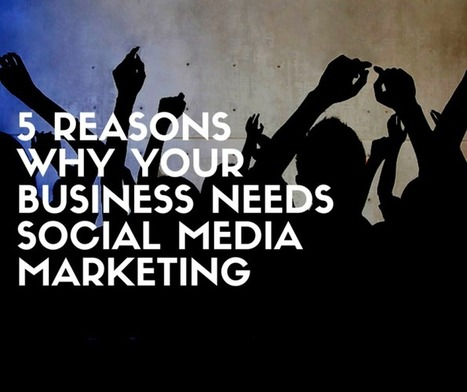 5 Reasons Why Your Business Needs Social Media Marketing | Surviving Social Chaos | Scoop.it