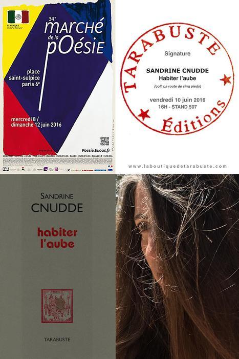 [vient de paraître] Sandrine Cnudde, Habiter l'aube, éd. Tarabuste | TdF  |   Poésie contemporaine | Scoop.it