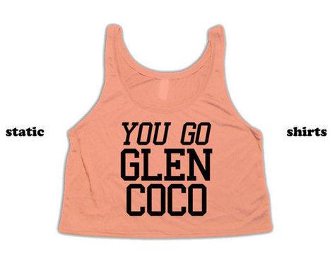 You Go Glen Coco Crop Top Tank Top | Mean Girls Tanktop Cutoff | Fashion Shirt | Scoop.it