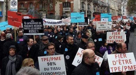 VIDEO. La colère des patrons de PME - Francetv info | PLATO France | Scoop.it
