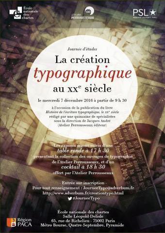 La création typographique au XXe siècle | Edition : les outils, leurs appropriations et les formations | Scoop.it