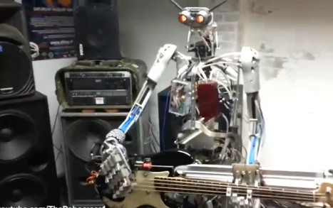 Robot Rock: Fake Bands on the Rise   21st Century Innovative Technologies and Developments as also discoveries, curiosity ( insolite)...   Scoop.it