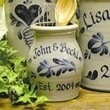 Get Beautiful Personalized Stoneware Crock   Buy Online Personalized Wood Cutting Boards   Scoop.it