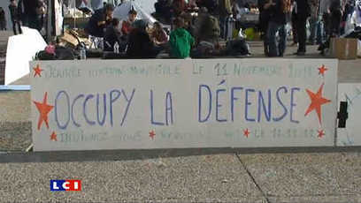 Rembobinez-svp: LCI - Occupy la défense - La Défense occupée | #marchedesbanlieues -> #occupynnocents | Scoop.it