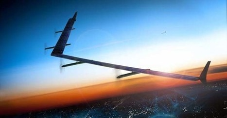 Drone Internet : Facebook franchit une étape décisive | Geeks | Scoop.it