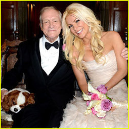 Hugh Hefner & Crystal Harris Wedding Pictures Revealed! - Just Jared   Pictures - Senior, Maternity, Fashion, Family and Weddings   Scoop.it